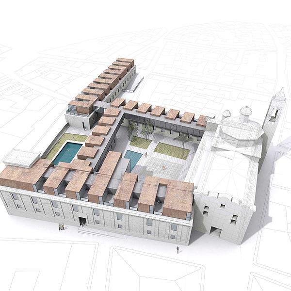 hospederia frenegal zooco arquitectos en santander y arquitectos en madrid