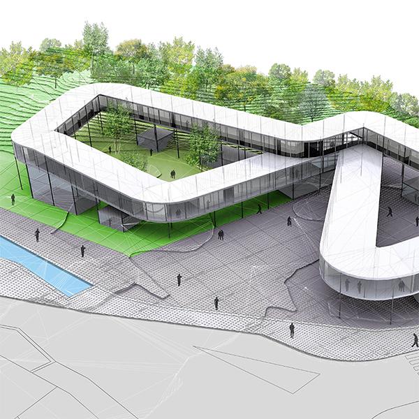 centro educacion torrelavega zooco arquitectos en santander