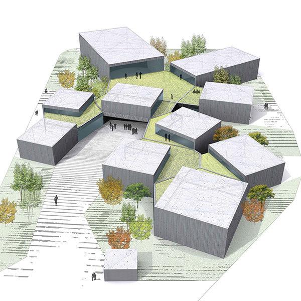 centro artes escenicas verin zooco arquitectos en santander y arquitectos en madrid